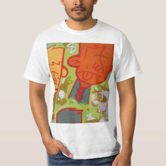 Camisa dos grafites t-shirt