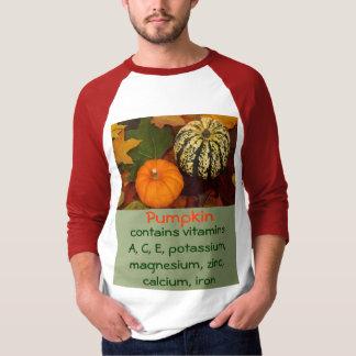 camisa dos homens da abóbora camisetas