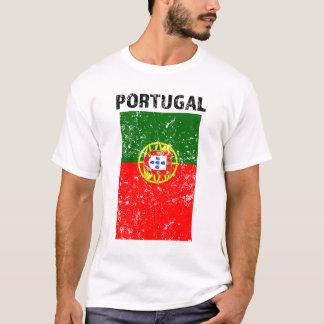 Camisa dos homens da bandeira de Portugal -