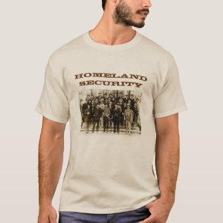 Camisa dos homens da segurança interna