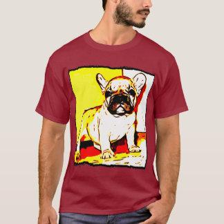 Camisa dos homens do buldogue francês