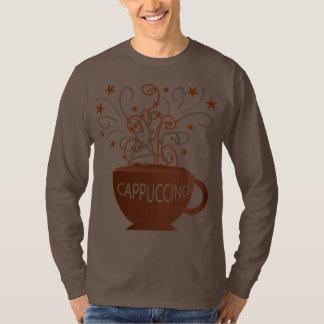 camisa dos homens do cappuccino t-shirts
