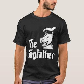 Camisa dos homens do pai de bull terrier