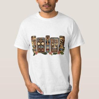 Camisa dos homens do partido de Tiki Camisetas