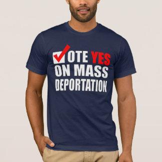 Camisa dos imigrantes ilegais