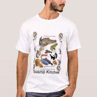 Camisa dos ingredientes da cozinha do pântano