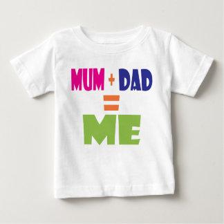 Camisa dos Maths T do bebê