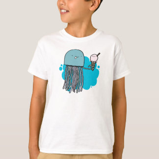 Camisa dos miúdos da geléia e do sorvete (luz)
