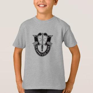Camisa dos miúdos das forças especiais