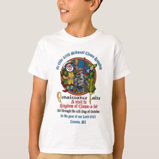 Camisa dos miúdos do MCA 40th