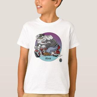 Camisa dos miúdos T - lisa, motociclistas é o ©