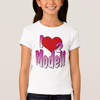 Camisa dos modelos T T-shirt