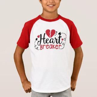 Camisa dos namorados do disjuntor do coração dos