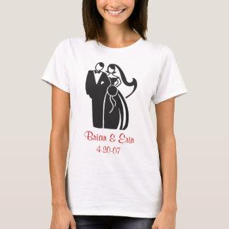 Camisa dos noivos