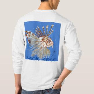 Camisa dos peixes do leão