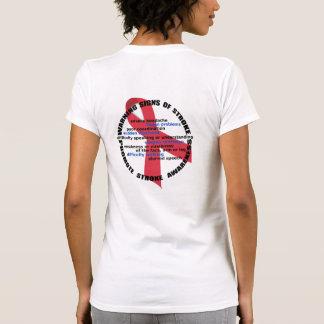 Camisa dos sinais de aviso & dos sintomas do curso camiseta