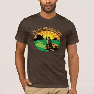 Camisa dos Wranglers do gramado