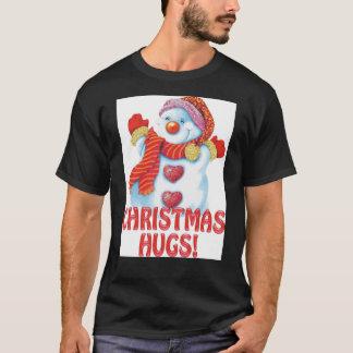 Camisa e hoodies do Feliz Natal T