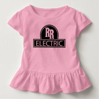 Camisa elétrica da criança do trilho rápido