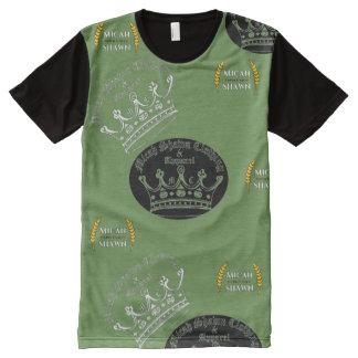 Camisa em desenvolvimento do roupa do vintage do