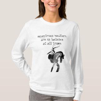 Camisa encapuçado dos Vaulters equestres