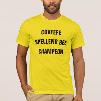 Camisa engraçada da ABELHA CHAMPEON | de COVFEFE