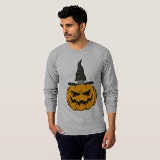 Camisa engraçada da abóbora do Dia das Bruxas