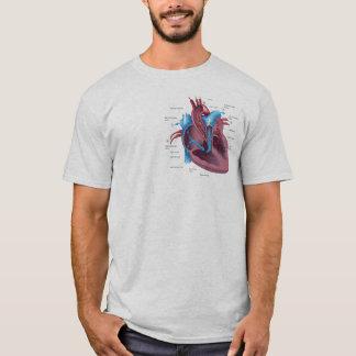Camisa engraçada da anatomia do coração