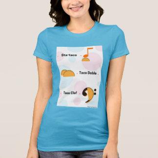 Camisa engraçada da chalaça do Taco da música:
