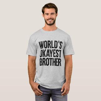 Camisa engraçada da definição do irmão de Okayest