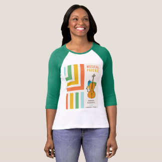 Camisa engraçada da mamã da música: Fazer Mozart