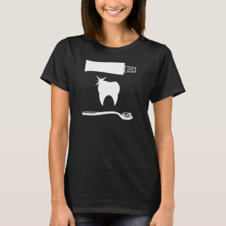 Camisa engraçada da odontologia