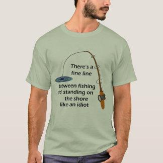 Camisa engraçada da pesca