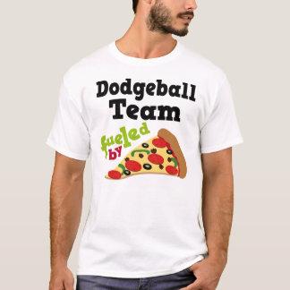 Camisa (engraçada) da pizza T da equipe de