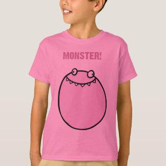 Camisa engraçada da roupa T dos miúdos das meninas