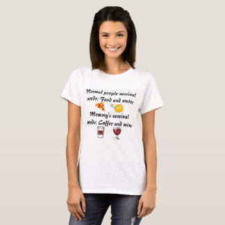 Camisa engraçada das mamães