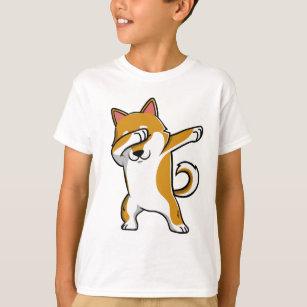 Camisa engraçada de toque ligeiro de Shiba Inu