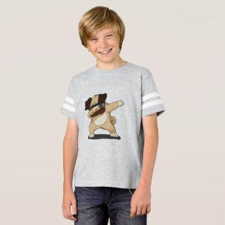 Camisa engraçada de toque ligeiro do Pug