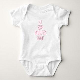 camisa engraçada dealimentação do bebê