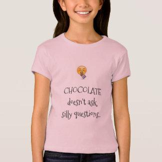 camisa engraçada do amante do chocolate