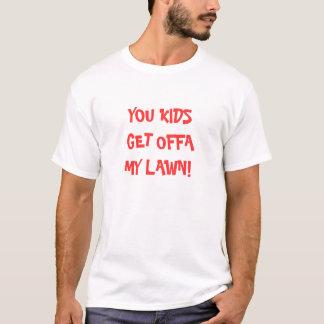 Camisa engraçada do aniversário T do marco