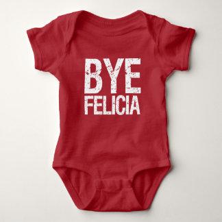 Camisa engraçada do bebê de Felicia do adeus