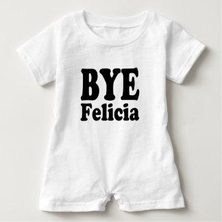 Camisa engraçada do bebé de Felicia do adeus