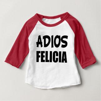 Camisa engraçada do bebê de Felicia do adeus de