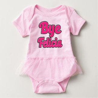 Camisa engraçada do bebê do provérbio de Felicia