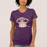 Camisa engraçada do coelho dos desenhos animados camiseta