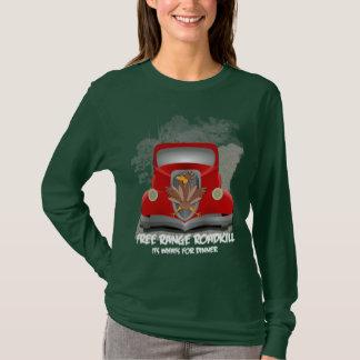 Camisa engraçada do comensal de Roadkill