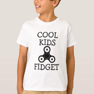 Camisa engraçada do girador da inquietação da