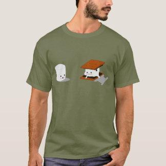 Camisa engraçada do Marshmallow de Smores
