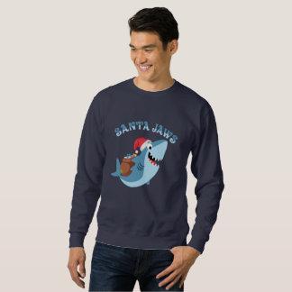 Camisa engraçada do Natal das maxilas do papai